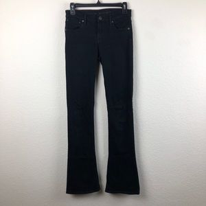 Citizens of Humanity Black Jeans Flare Bottom 25